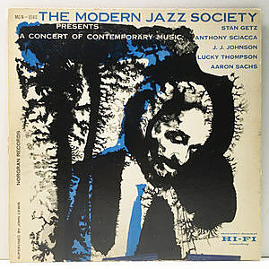 レコード画像:MODERN JAZZ SOCIETY / Presents A Concert Of Contemporary