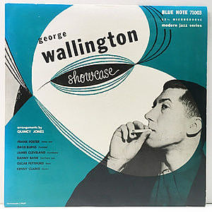 レコード画像:GEORGE WALLINGTON / Showcase
