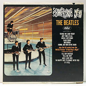 レコード画像:BEATLES / Something New