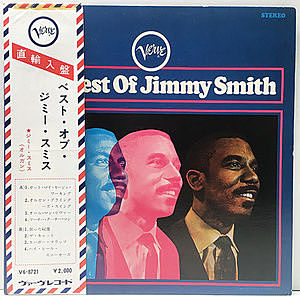 レコード画像:JIMMY SMITH / The Best Of Jimmy Smith
