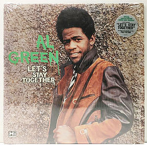 レコード画像:AL GREEN / Let's Stay Together