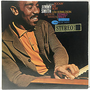 レコード画像:JIMMY SMITH / Rockin' The Boat