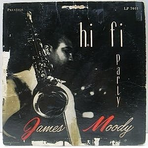 レコード画像:JAMES MOODY / Hi Fi Party