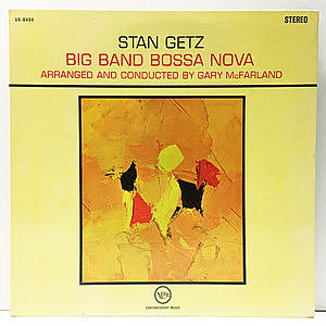 レコード画像:STAN GETZ / Big Band Bossa Nova