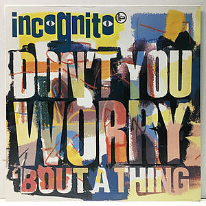 レコード画像:INCOGNITO / Don't You Worry 'Bout A Thing