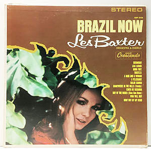 レコード画像:LES BAXTER / Brazil Now