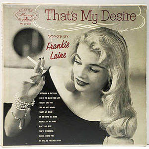 レコード画像:FRANKIE LAINE / That's My Desire