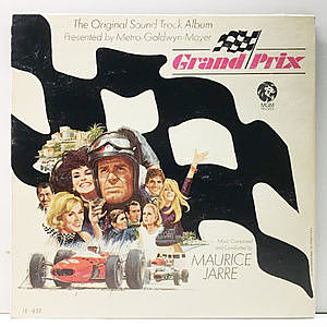 レコード画像:MAURICE JARRE / Grand Prix (The Original Sound Track Album)