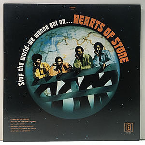 レコード画像:HEARTS OF STONE / Stop The World-We Wanna Get On