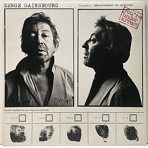 レコード画像:SERGE GAINSBOURG / You're Under Arrest
