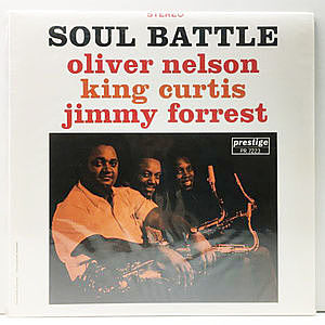 レコード画像:OLIVER NELSON / KING CURTIS / JIMMY FORREST / Soul Battle