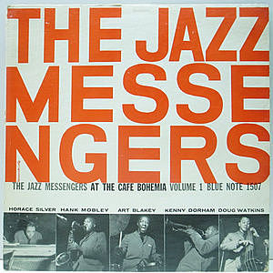レコード画像:JAZZ MESSENGERS / At The Cafe Bohemia Vol.1