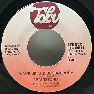 レコード画像:BRAINSTORM / Wake Up And Be Somebody