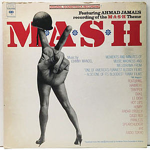 レコード画像:JOHNNY MANDEL / MASH (O.S.T.)