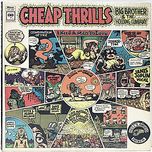 レコード画像:BIG BROTHER & THE HOLDING CO. / JANIS JOPLIN / Cheap Thrills
