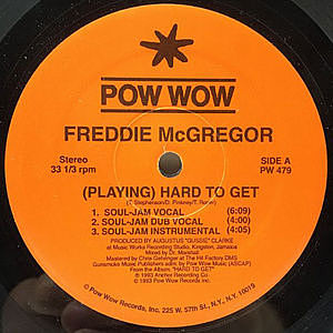 レコード画像:FREDDIE MCGREGOR / (Playing) Hard To Get