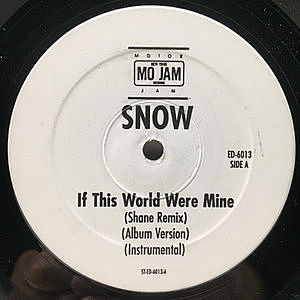 レコード画像:SNOW / If This World Were Mine / Mash Up Da Nation