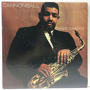 レコード画像:CANNONBALL ADDERLEY / Takes Charge