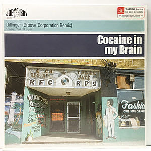 レコード画像:DILLINGER / Cocaine In My Brain
