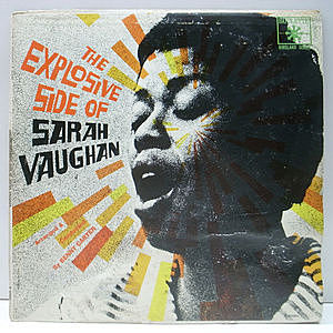 レコード画像:SARAH VAUGHAN / The Explosive Side Of