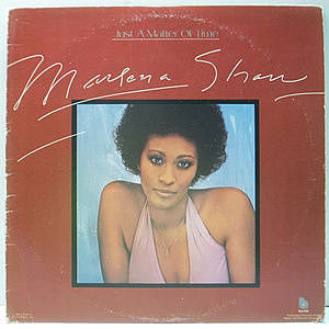 レコード画像:MARLENA SHAW / Just A Matter Of Time