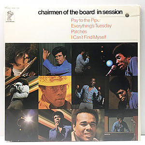 レコード画像:CHAIRMEN OF THE BOARD / In Session