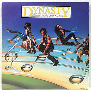 レコード画像:DYNASTY / Adventures In The Land Of Music