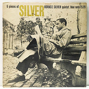 レコード画像:HORACE SILVER / 6 Pieces Of Silver