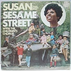 レコード画像:SUSAN With The Children's Chorus / Susan Sings Songs From Sesame Street