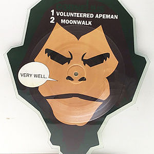 レコード画像:CORNELIUS / Volunteered Apeman / Moonwalk
