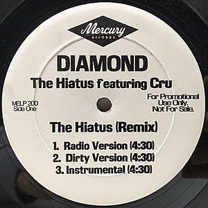 レコード画像:DIAMOND / The Hiatus (Remix)