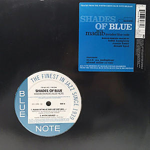 レコード画像:MADLIB / Tracks From Shades Of Blue - Madlib Invades Blue Note