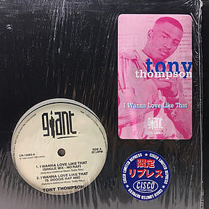 レコード画像:TONY THOMPSON / I Wanna Love Like That