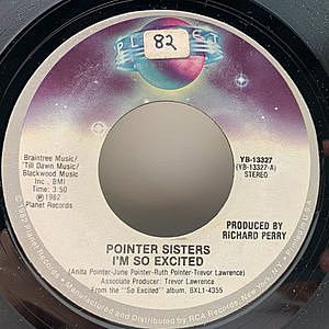 レコード画像:POINTER SISTERS / I'm So Excited