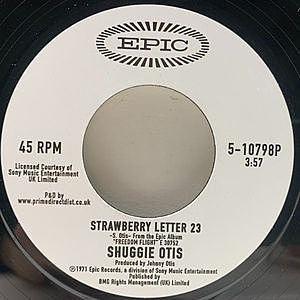 レコード画像:SHUGGIE OTIS / Strawberry Letter 23 / Ice Cold Daydream