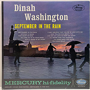 レコード画像:DINAH WASHINGTON / September In The Rain