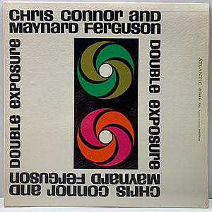 レコード画像:CHRIS CONNOR / MAYNARD FERGUSON / Double Exposure