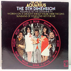 レコード画像:5TH DIMENSION / The Age Of Aquarius