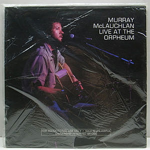 レコード画像:MURRAY McLAUCHLAN / Live At The Orpheum