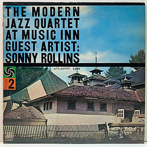 レコード画像:MODERN JAZZ QUARTET / SONNY ROLLINS / The Modern Jazz Quartet At Music Inn - Volume 2