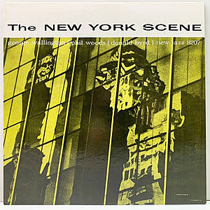 レコード画像:GEORGE WALLINGTON / PHIL WOODS / DONALD BYRD / The New York Scene