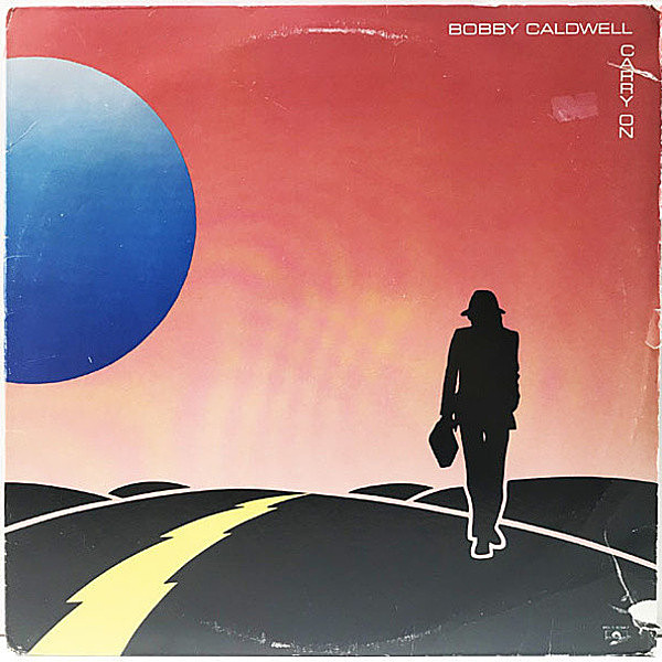 レコードメイン画像:M.E.Dネタ USオリジナル BOBBY CALDWELL Carry On ('82 Polydor) TOTO & TOWER OF POWER 参加 Jamaica, Loving You ほか AOR SAMPING LP