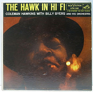 レコード画像:COLEMAN HAWKINS / The Hawk In Hi Fi
