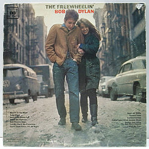 レコード画像:BOB DYLAN / The Freewheelin' Bob Dylan