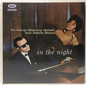 レコード画像:GEORGE SHEARING / DAKOTA STATON / In The Night