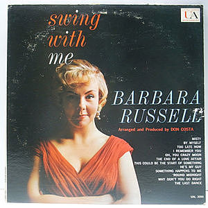 レコード画像:BARBARA RUSSELL / Swing With Me