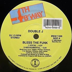 レコード画像:DOUBLE J / Bless The Funk