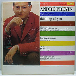 レコード画像:ANDRE PREVIN / Thinking Of You