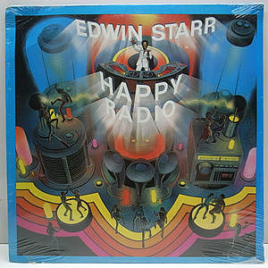 レコード画像:EDWIN STARR / Happy Radio