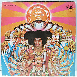 レコード画像:JIMI HENDRIX / Axis : Bold as Love
